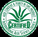 Σφραγίδα Έγκρισης του Επιστημονικού Συμβουλίου της Αλόης